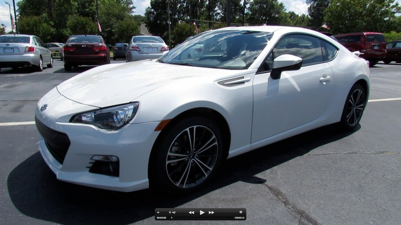 2013 Subaru Brz Limited Start Up Exhaust And In Depth