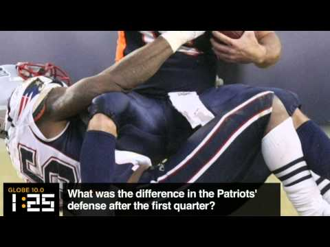 Globe 10.0: What was the difference in the Patriots' defense?