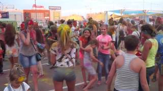 Фестиваль Liman Kids Fest - праздник краски Холи видео №4