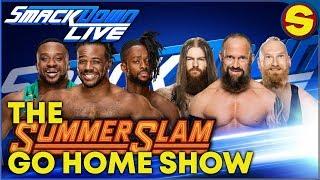 🔴 WWE SMACKDOWN LIVE GO HOME SHOW 🔴