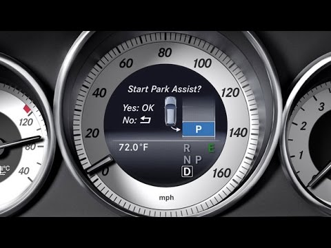 2015 mercedes e class active park assist parallel park youtube. Black Bedroom Furniture Sets. Home Design Ideas