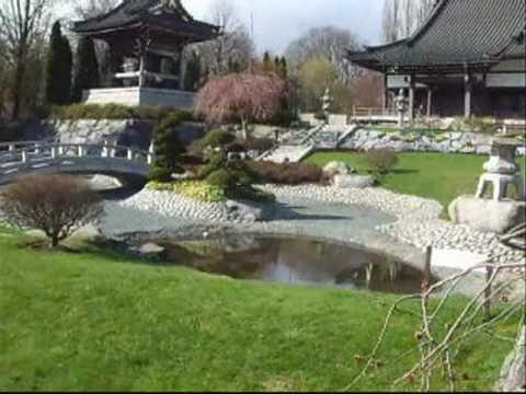 Der Japanische Garten In Düsseldorf Youtube