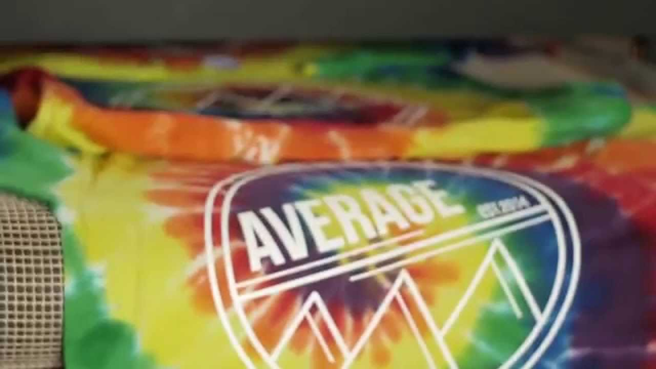 Le t shop making of obsek 4 color process cmyk t shirt youtube - Tie Dye T Shirt Printing Rainbow Pattern