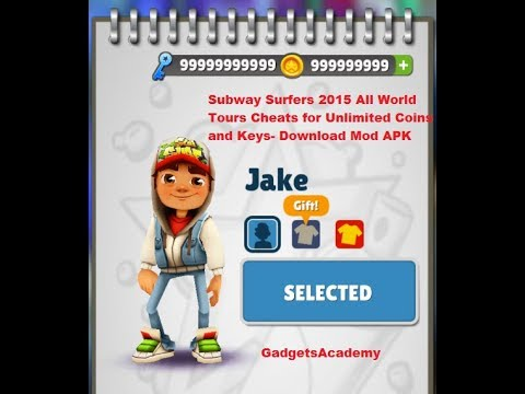 subway surfers game hack download