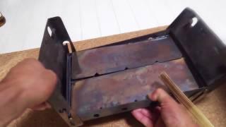 Amazonベストセラー❗尾上フォールディングBBQコンロ❗B-6サイズ折りたたみコンロ二種類で焚き火出来るか❓ thumbnail