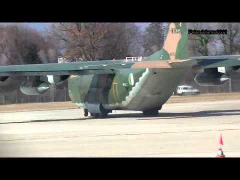 Lockheed C 130 Hercules Algeria   Air Force Geneva   Cointrin GVA ID16940