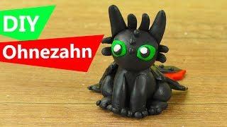 DIY Ohnezahn Knetfigur | Premo/Fimo Tutorial | Drachenzähmen leicht gemacht | DIY Clay Ideen