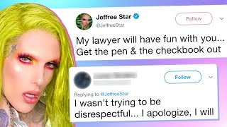 Jeffree Star Receives Tweet from Artist, Forces Him to Delete All His Work