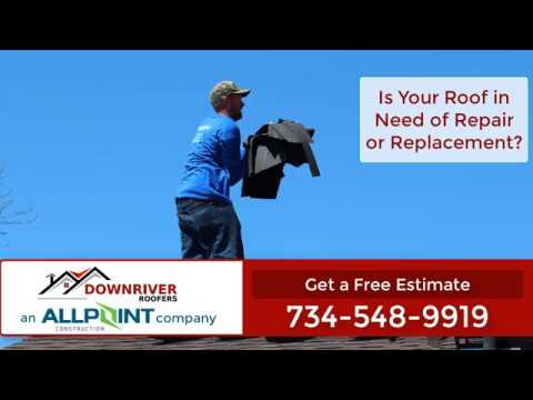 The Best Roofing Lincoln Park Michigan : Downriver Roofers  734-548-9919