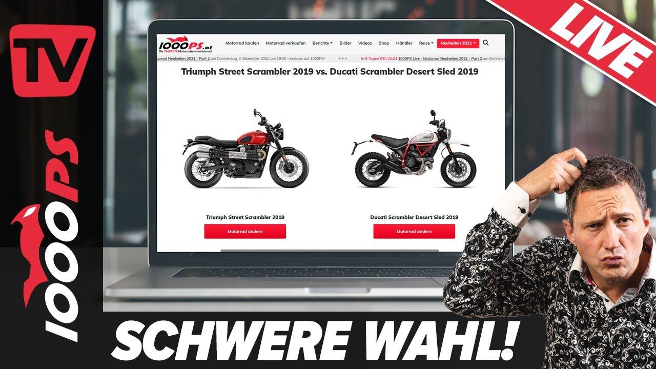 Motorradvergleich Und Motorradberatung Nastynils Live Youtube