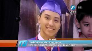 Relatives and citizens demand justice for Alex Villamayor