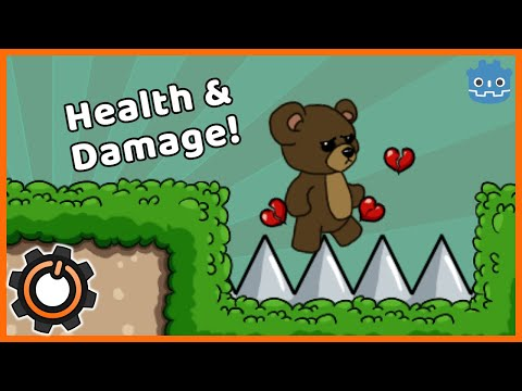 How to Add Health and Damage in Godot 3.1 thumbnail