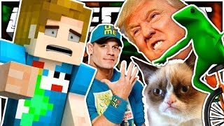 What If Memes Took Over Minecraft?