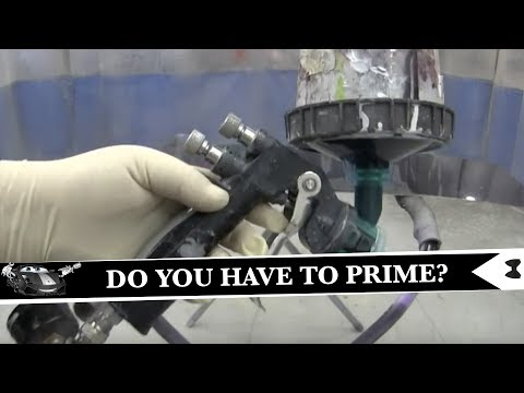 Does Primer Have To Be Sprayed Before Painting a Car?