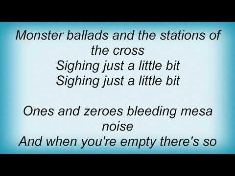 Josh Ritter - Monster Ballads Lyrics