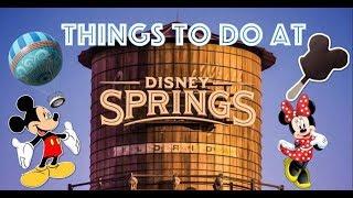 Disney Springs  Family Fun Day