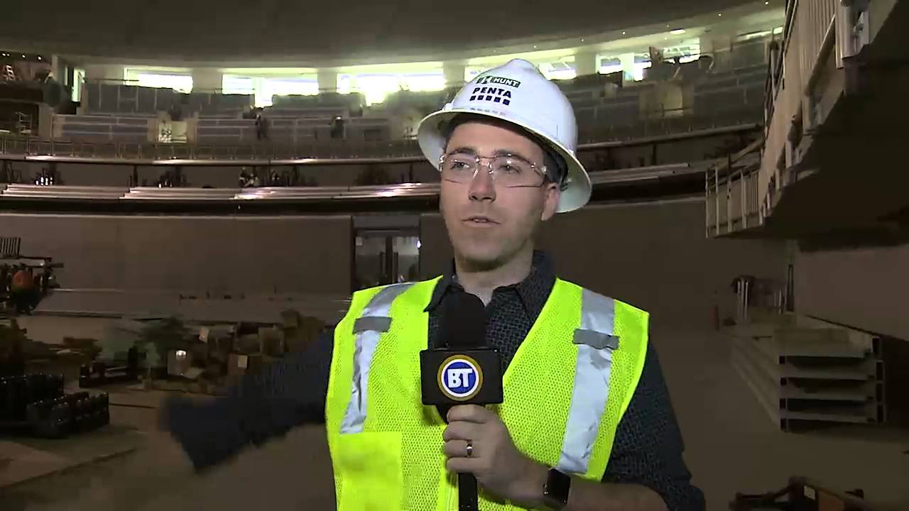Sneak Peek Tour Of The Opening Soon T Mobile Arena In Vegas Youtube