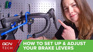 How To Set Uṗ And Adjust Your Brake Levers   GCN Maintenance Monday