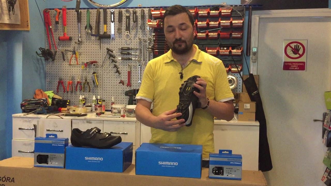 516edabcc5e Shimano RP1 Yol Ayakkabısı + Shimano PD-540 Yol Pedalı incelemesi ...