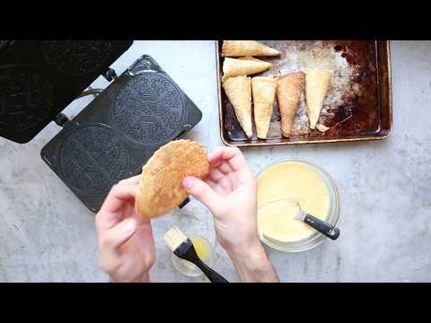 How to Make Ice Cream Cones