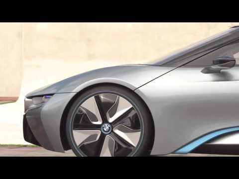 BMW i8 Concept Spyder. Teaser.