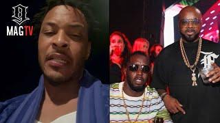 T.I. G-Checks Diddy For Disrespectfully Declining Verzuz Against Jermaine Dupri! 😡