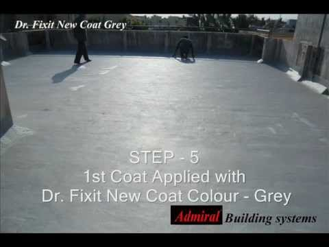 Dr Fixit Water Proofing Youtube