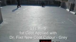 Dr fixit water proofing