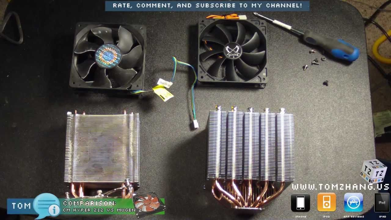 Cooler Master Hyper 212 Plus Vs Scythe Mugen 2 Rev B Cpu