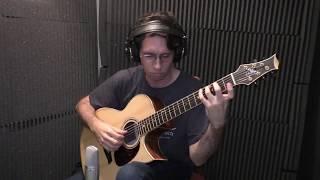 """new """"dadgad"""" solo guitar song """"i.j.e."""""""