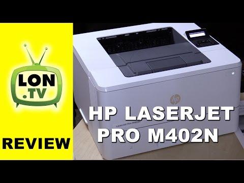 HP LaserJet Pro M402n Laser Printer Review - Black and White / Monochrome