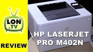 hP LaserJet Pro M402n Laser Printer Review - Black and White / Monochrome