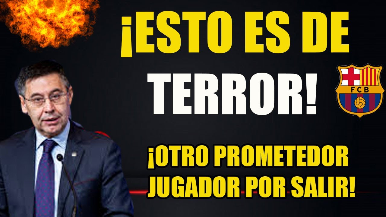 ¡OTRO JUGADOR SACRIFICADO POR BARTOMEU! ¡PESIMA GESTION!