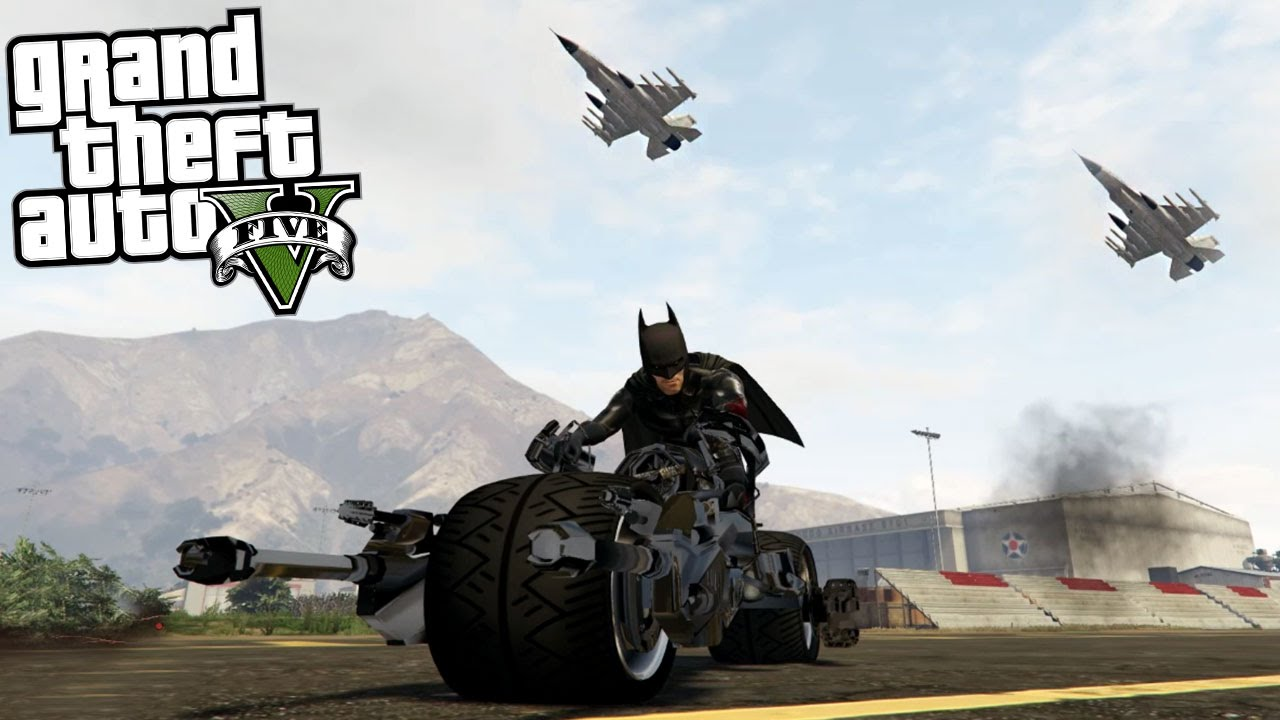 0ee6dcc71e9 GTA 5 Batman Mod - BATPOD - YouTube