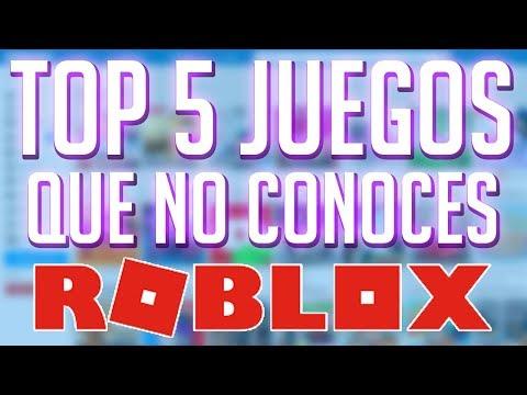 Top 5 Juegos De Roblox Que No Conocias Youtube - top 5 juegos que quizas no conocias y son increibles de roblox