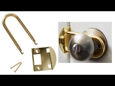 Bedroom Door Lock Bedroom Bolt Privacy Lock Bolt Youtube