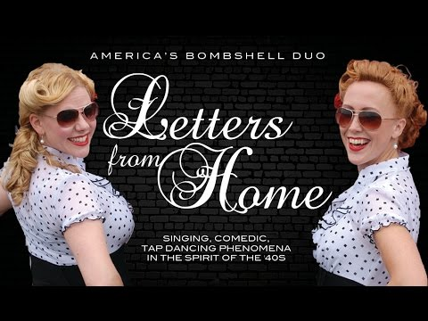 letters from home americas bombshell duo 2014