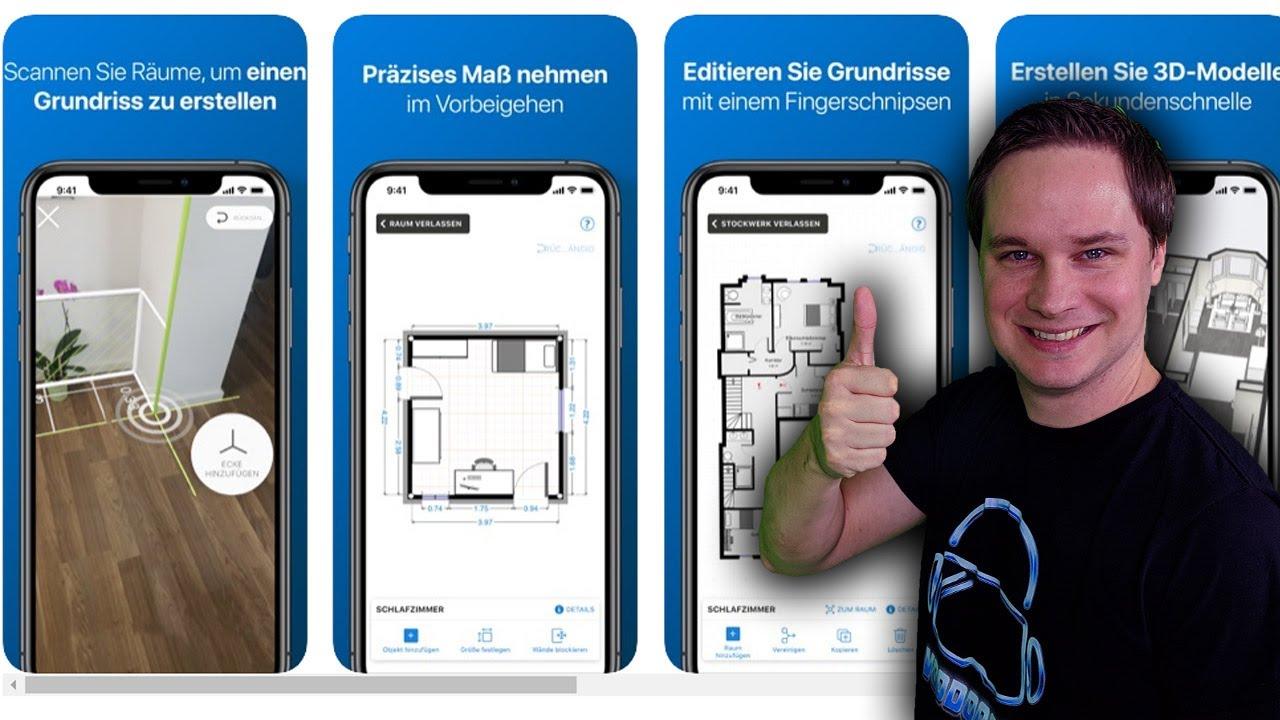 Grundrisse erstellen mit Augmented Reality, das klappt! - Magicplan AR