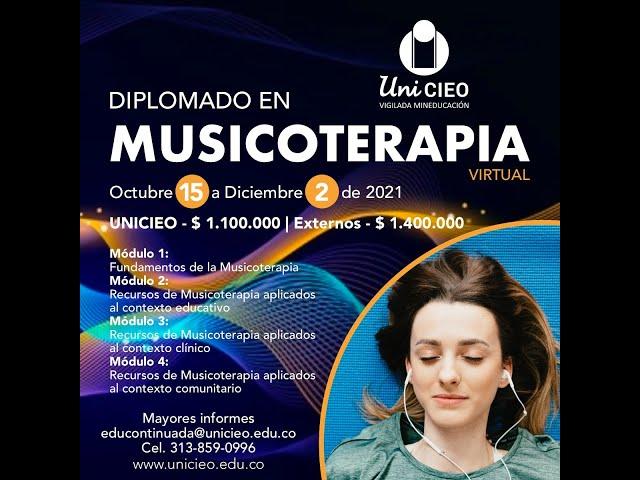 DIPLOMADO EN MUSICOTERAPIA