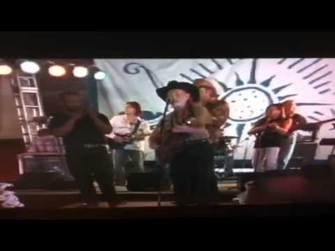 Willie Nelson and Toby Keith performing Uncloudy Day