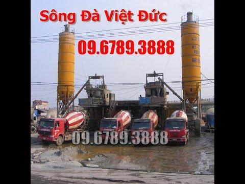 Bê tông tươi dùng bơm tĩnh đổ nền nhà kho, xưởng 09.6789.3888