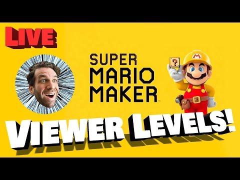 Mario Maker Viewer Levels