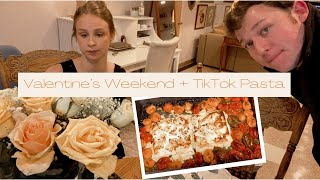 February Weekend in My Life: Valentine's Day, TikTok Feta Pasta, and Trader Joe's