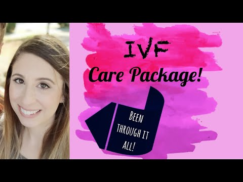 IVF | Care Package | These things help!