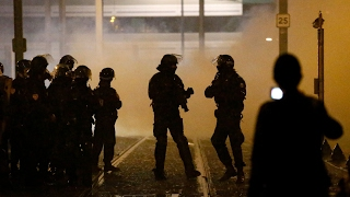 Fresh violence in Paris amid protests over police rape allegations