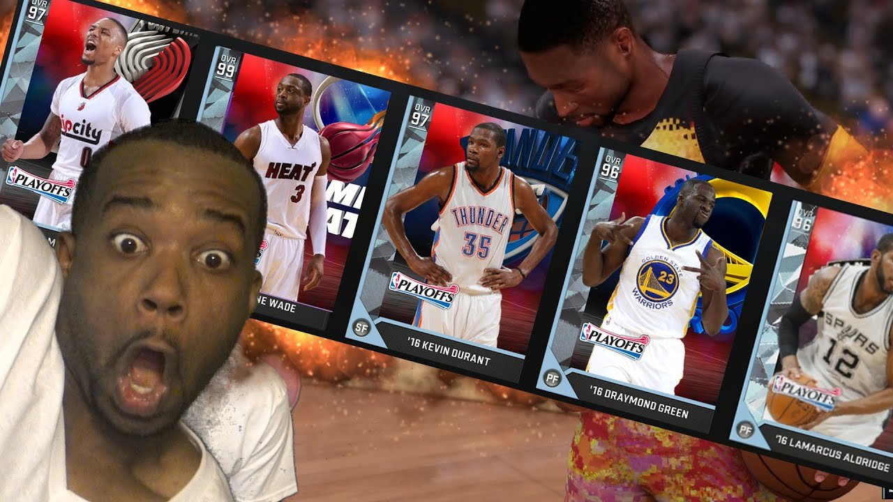 e35887fa8 THIS NEW DWYANE WADE IS OVERPOWERED! ALL NEW PLAYOFF MOMENT CARD CHALLENGE!  NBA 2k16 MyTeam Gameplay
