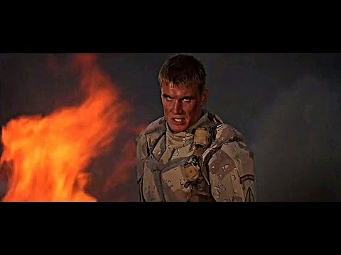 "UNIVERSAL SOLDIER [1992] Scene: ""I'm giving the orders..."""