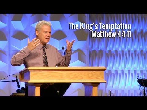 Matthew 4:1-11, The King's Temptation