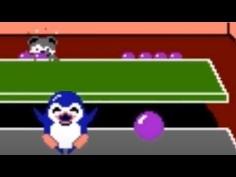 Penguin Wars (NES) Playthrough - NintendoComplete