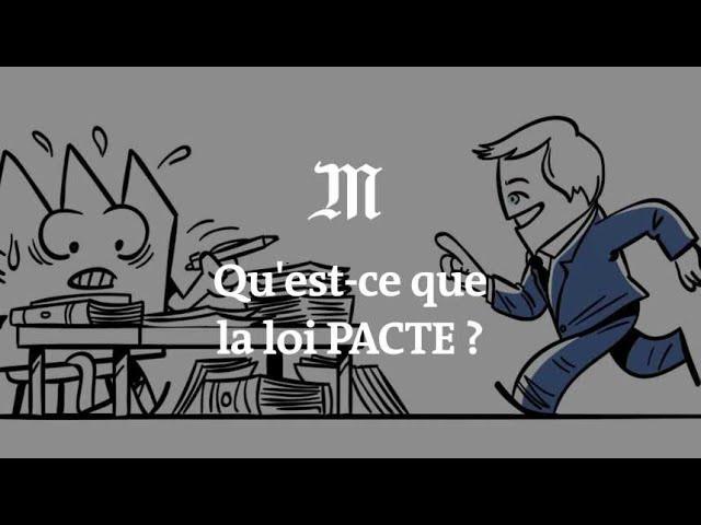 LOI PACTE: Une vidéo pédagogique